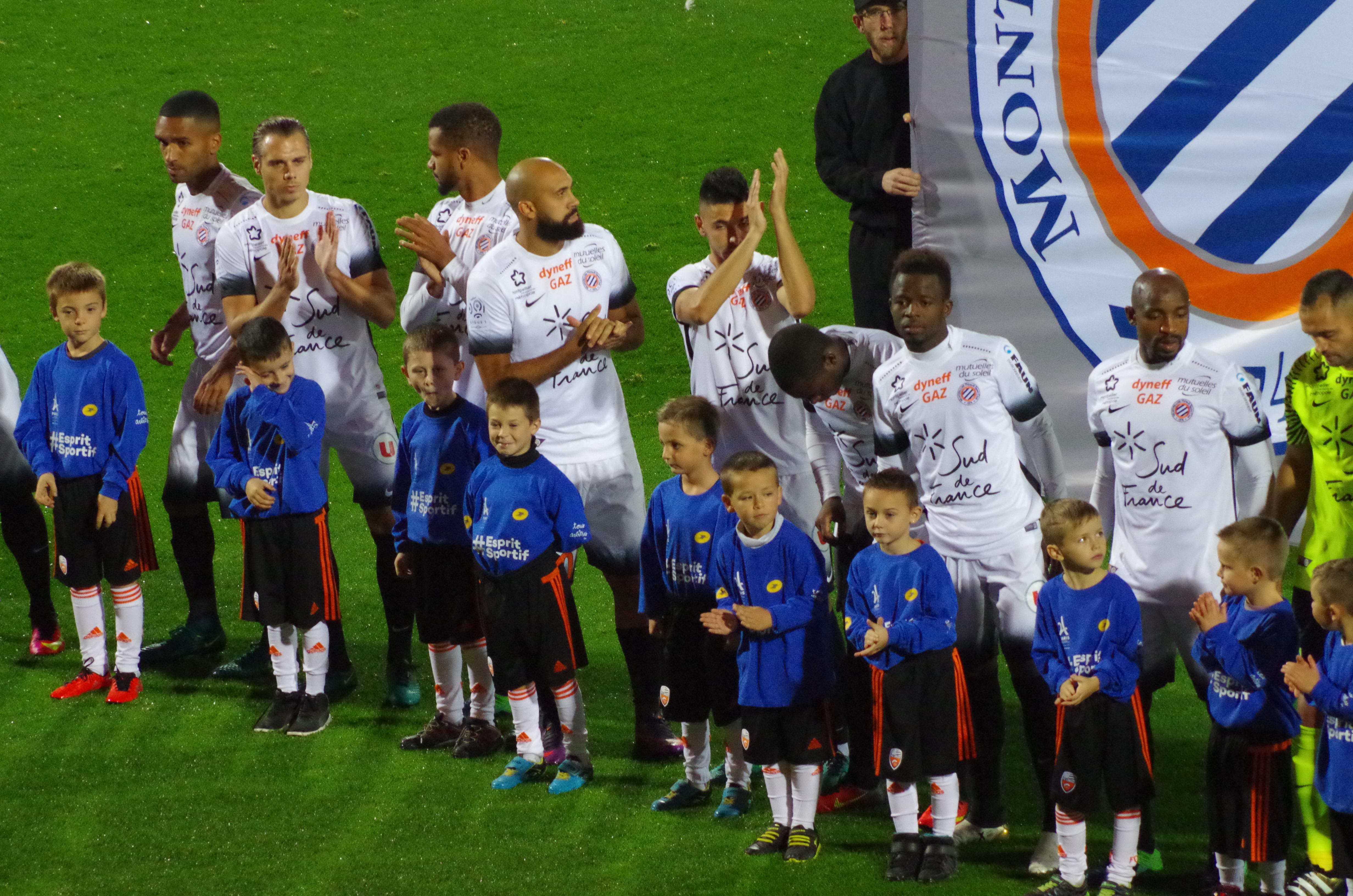 Escorte Kids FC Lorient- Monptellier