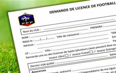 Tarifs des licences saison 2017/2018