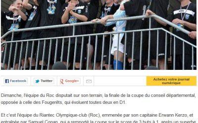 Ouest France – Coupe du Conseil Départemental