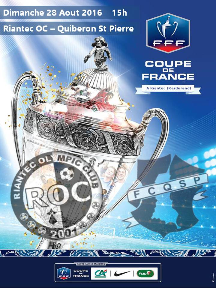 affiche coupe de france quiberon