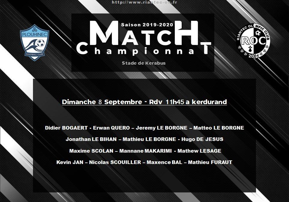 Plouhinec FC – Riantec OC